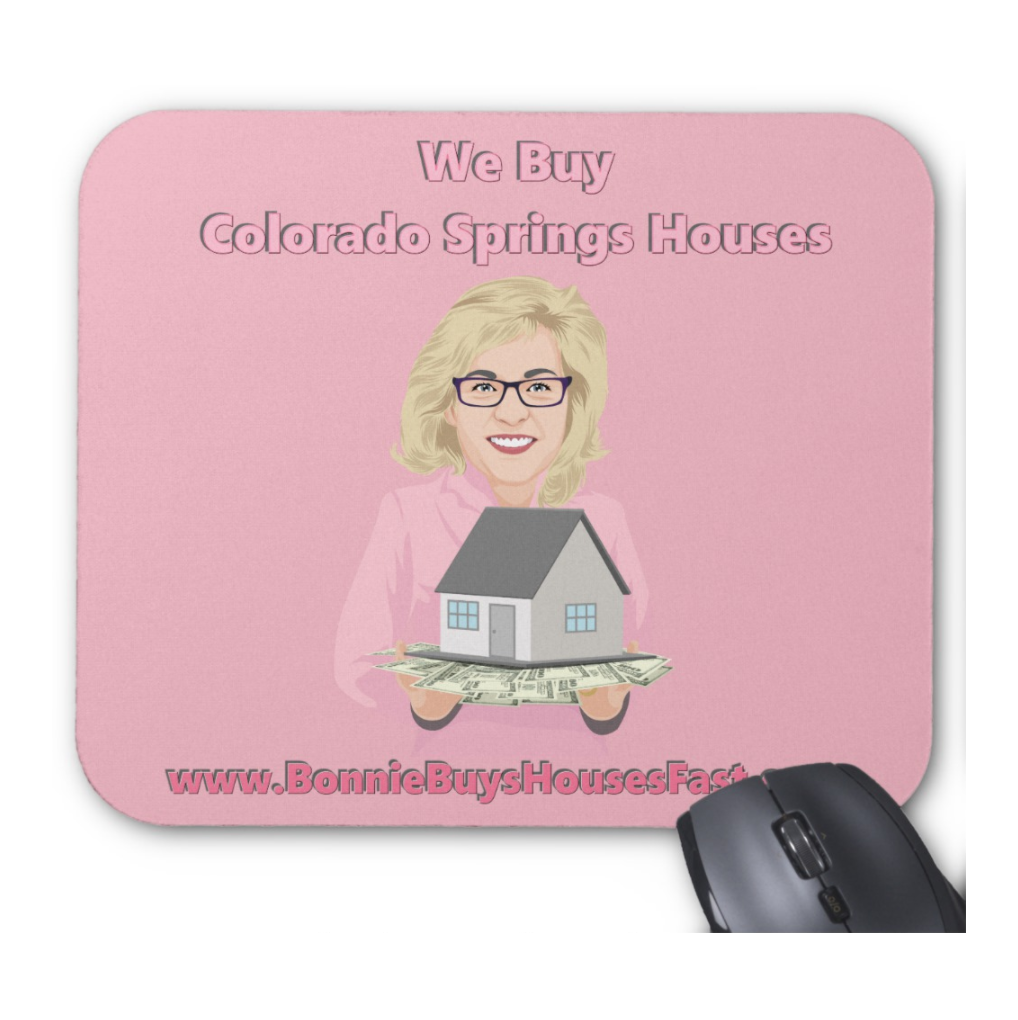Bonnie Buys Houses Colorado Springs Mouse Pad